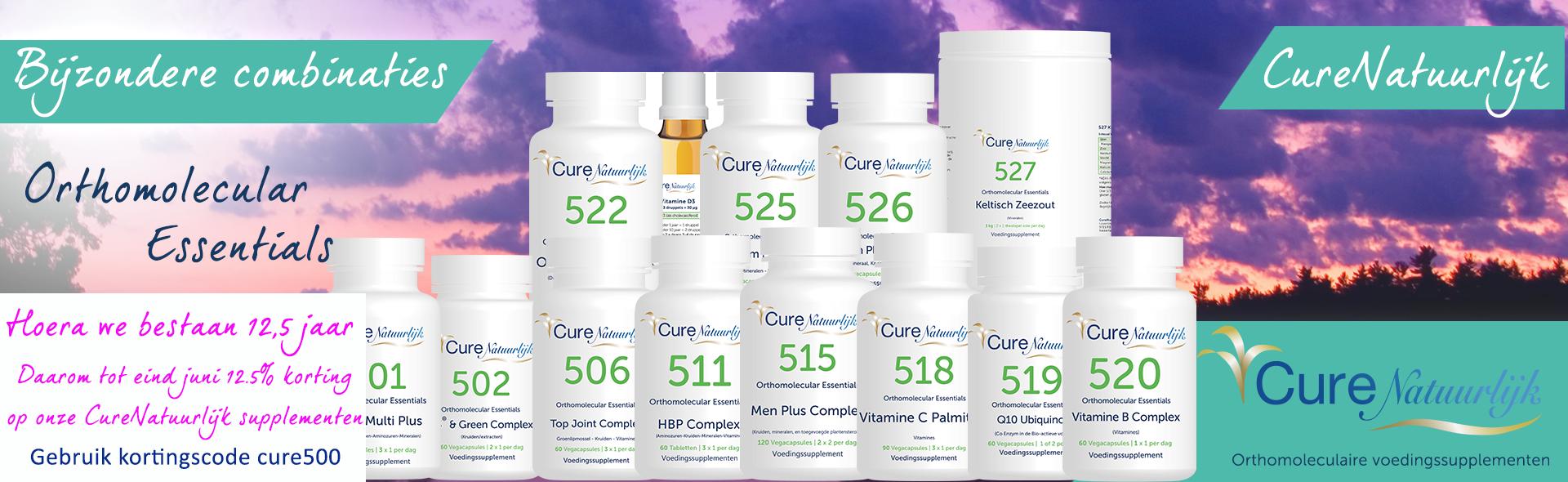 Slider CureNatuurlijk producten